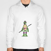 tmnt Hoodies featuring TMNT by Shahbab