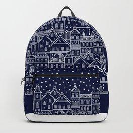 Christmas city Backpack