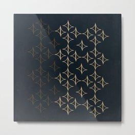 Geometric BBM Metal Print