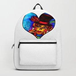 Lady in Red Female Baron Samedy Backpack