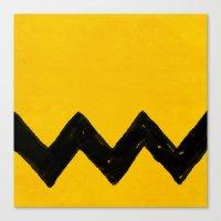 charlie brown Canvas Prints featuring Charlie Brown by Aaron Lockwood