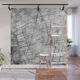 Cracks in timber Textures 3 Wall Mural