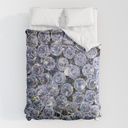 Pale Blue Crystals Comforters