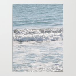 TEXTURES -- Surf   at San Clemente Poster