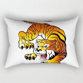 Japanese Tiger Rectangular Pillow