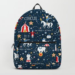 Retro Circus Backpack