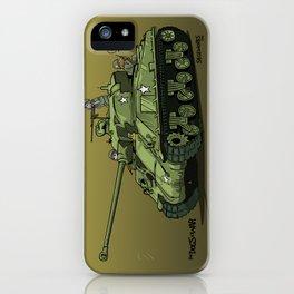 Dogs of War: Sherman Tank iPhone Case