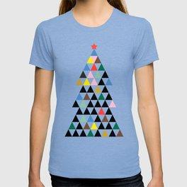 Geometric Christmas Tree T-shirt