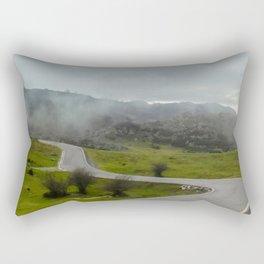 Winding road Rectangular Pillow