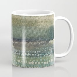 Landscape Dots- Blue Coffee Mug