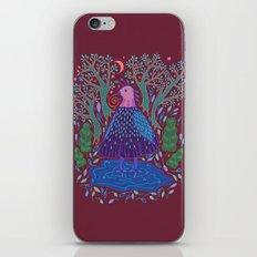 Bird Bath iPhone & iPod Skin