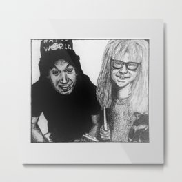 WAYNE'S WORLD Metal Print