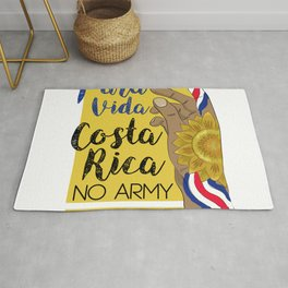 Costa Rica PURA VIDA Rug