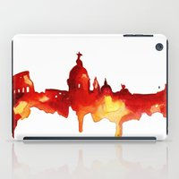 rome iPad Cases featuring Rome by Talula Christian