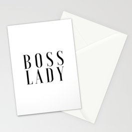 BOSS LADY Printable Poster Office Art Office Decor Girls Room Art Inspirational Wall Art Office Prin Stationery Cards