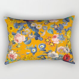 Summer Botanical Garden IX Rectangular Pillow