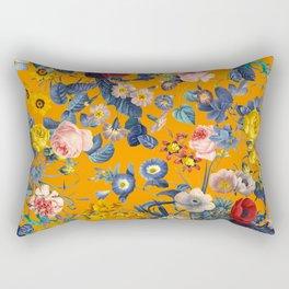 Summer Botanical Garden IX Rectangular Pillow