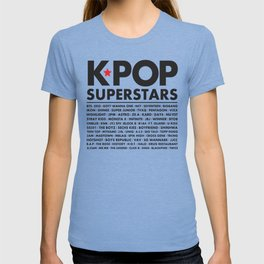 KPOP Superstars Original Boy Groups Merchandse T-shirt