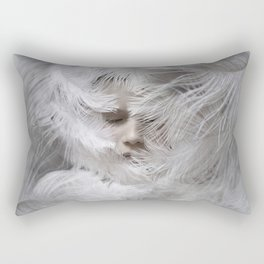 White Rectangular Pillow