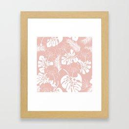 Tropical pattern 020 Framed Art Print
