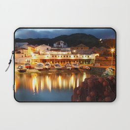 Fishing harbour Laptop Sleeve