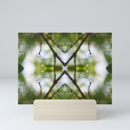 Nature Kaleidoscope # 4 Mini Art Print
