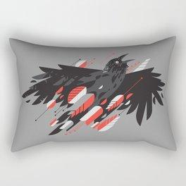 Crow Escape Rectangular Pillow