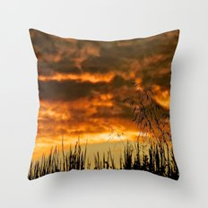 Goodbye Daylight Throw Pillow