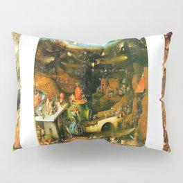Last Judgement by Bosch c. 1482 Pillow Sham