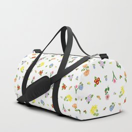 Flowers and More Flowers Duffle Bag