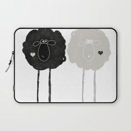 Ying Yang Sheep Laptop Sleeve