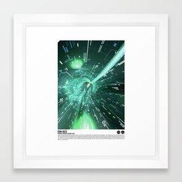 Daydreams Like Mainframes 001: Interface Ethernet Zero Framed Art Print