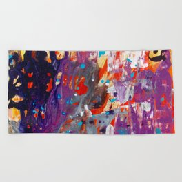 Spirits by Noora Elkoussy Beach Towel