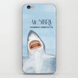 Mr. Shark Insurance Broker Ltd. iPhone Skin