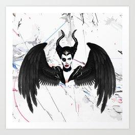 Pirate Maleficent Art Print