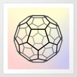 Bucky Ball Art Print