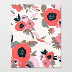 Dakota Floral Canvas Print