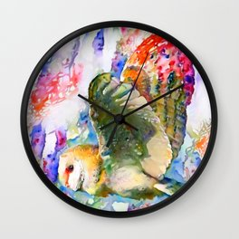 Breath of Spring Wall Clock