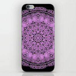 Mandala Project 234 | Pink Filigree & Hearts iPhone Skin