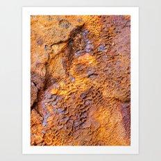 Australian Boat Texture #1 Art Print