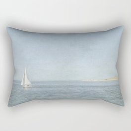 Sunday Sail  - Cape Cod Rectangular Pillow