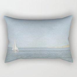 Sunday Sail  - Cape Cod Rectangular Pillow