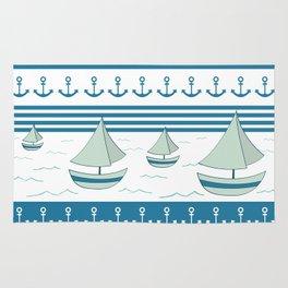 Sea lovers Rug