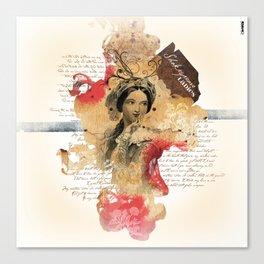 Shakespeare Ladies #1 Canvas Print