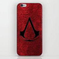 assassins creed iPhone & iPod Skins featuring Creed Assassins Brotherhood by aleha
