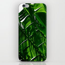 Green Me Up iPhone Skin