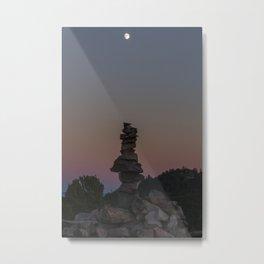 Moontower Metal Print