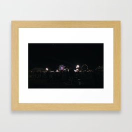 NightShow- Skyline Framed Art Print