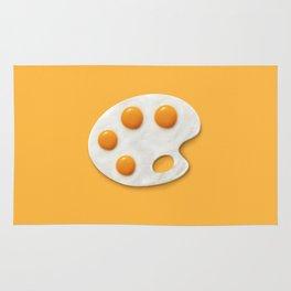 Eggs palette Rug