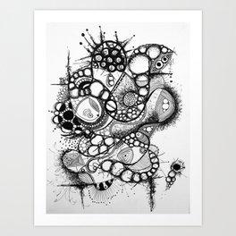 Desenredando el inconsciente migratorio Art Print